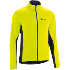 Gonso Diorit Softshell Jakke Herrer, safety yellow/black